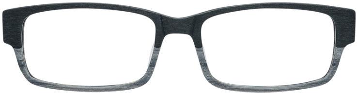 PRESCRIPTION-GLASSES-MODEL-ART-310-BLACK-WOOD-FRONT