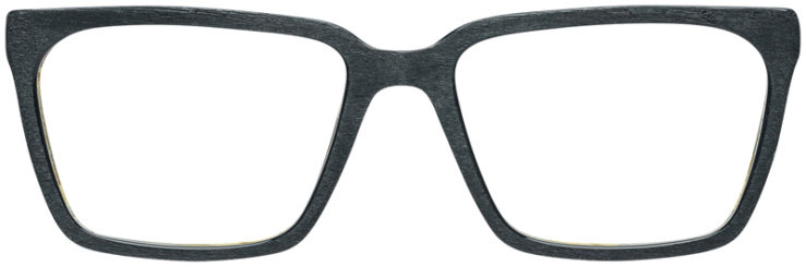 PRESCRIPTION-GLASSES-MODEL-ART-316-BLACK-WOOD-FRONT