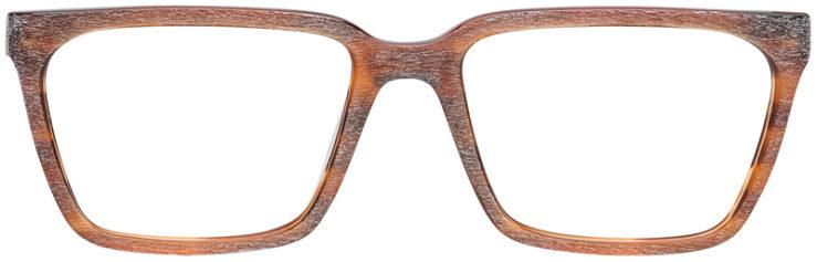 PRESCRIPTION-GLASSES-MODEL-ART-316-BROWN-WOOD-FRONT