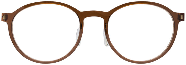 PRESCRIPTION-GLASSES-MODEL-ART-321-BROWN-GOLD-FRONT