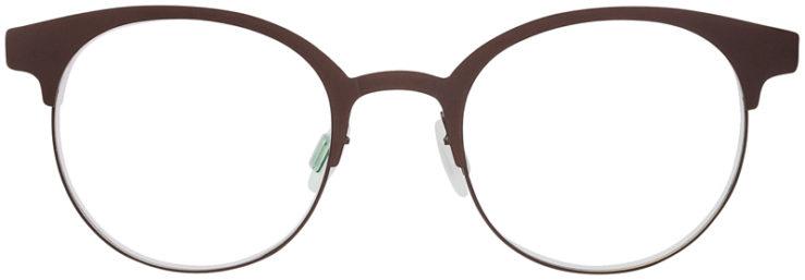 PRESCRIPTION-GLASSES-MODEL-ART-323-BROWN-FRONT