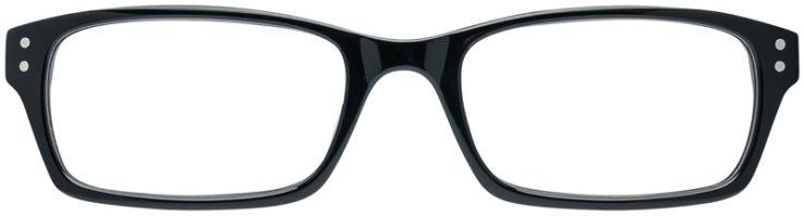 PRESCRIPTION-GLASSES-MODEL-ART-408-BLACK-FRONT