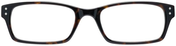 PRESCRIPTION-GLASSES-MODEL-ART-408-HAVANA-HORN-FRONT