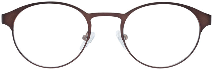 PRESCRIPTION-GLASSES-MODEL-DC-115-BROWN-FRONT