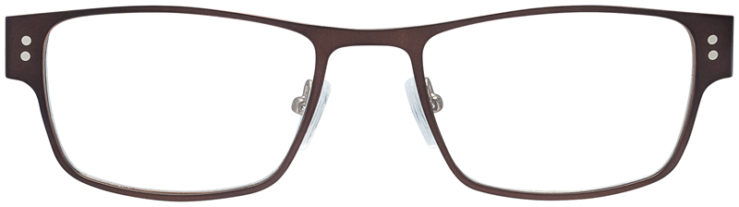 PRESCRIPTION-GLASSES-MODEL-DC-118-BROWN-FRONT