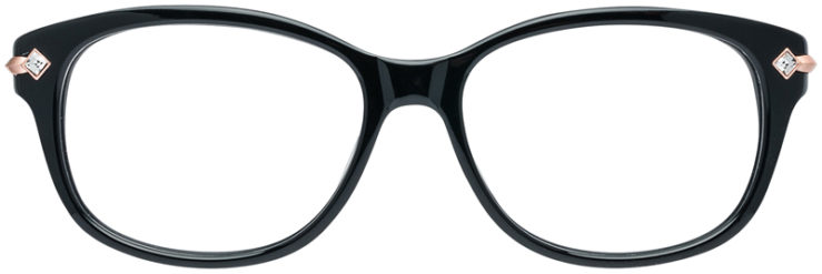 PRESCRIPTION-GLASSES-MODEL-DC-127-BLACK-FRONT
