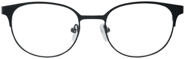 PRESCRIPTION-GLASSES-MODEL-DC-132-BLACK-FRONT