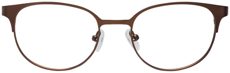 PRESCRIPTION-GLASSES-MODEL-DC-132-BROWN-FRONT