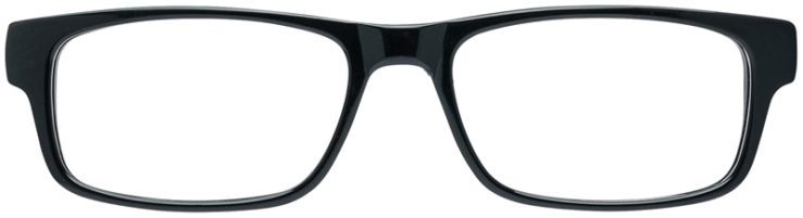 PRESCRIPTION-GLASSES-MODEL-DC-136-BLACK-FRONT