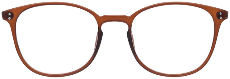 PRESCRIPTION-GLASSES-MODEL-DC-141-BROWN-FRONT