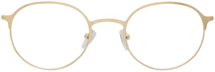 PRESCRIPTION-GLASSES-MODEL-DC-160-GOLD-FRONT