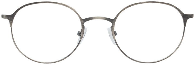 PRESCRIPTION-GLASSES-MODEL-DC-160-GUNMETAL-FRONT
