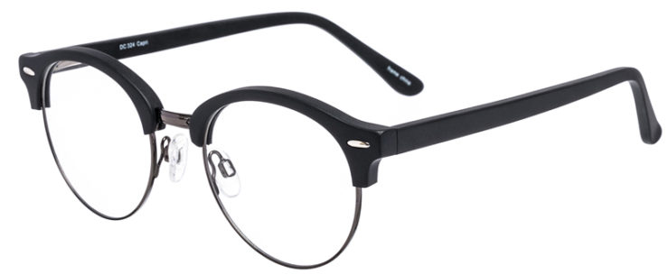 PRESCRIPTION-GLASSES-MODEL-DC-324-BLACK-GUNMETAL-45