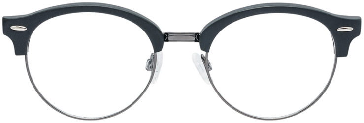 PRESCRIPTION-GLASSES-MODEL-DC-324-BLACK-GUNMETAL-FRONT