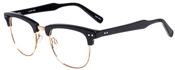 PRESCRIPTION-GLASSES-MODEL-DC-326-BLACK-GOLD-45