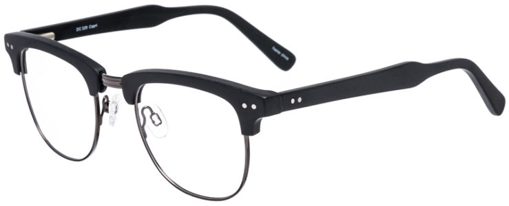 PRESCRIPTION-GLASSES-MODEL-DC-326-BLACK-GUNMETAL-45