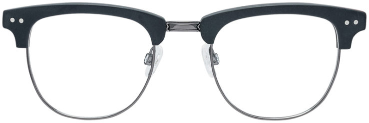 PRESCRIPTION-GLASSES-MODEL-DC-326-BLACK-GUNMETAL-FRONT