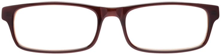 PRESCRIPTION-GLASSES-MODEL-DC-50-BROWN-FRONT
