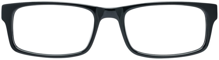 PRESCRIPTION-GLASSES-MODEL-DC-88-BLACK-FRONT