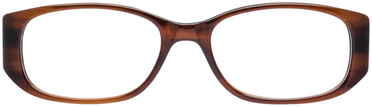 PRESCRIPTION-GLASSES-MODEL-DC-99-BROWN-FRONT