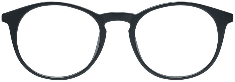 black eyeglasses by overnight glasses
