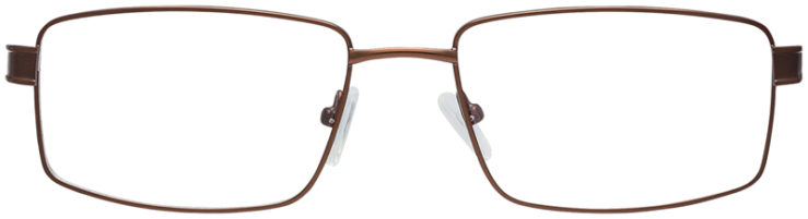 PRESCRIPTION-GLASSES-MODEL-FX104-BROWN-FRONT