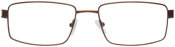 PRESCRIPTION-GLASSES-MODEL-FX104-BROWN-FRONT