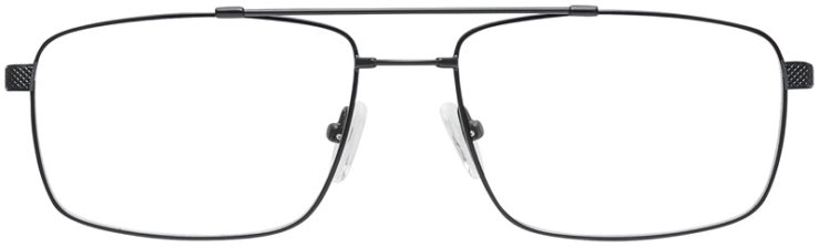 PRESCRIPTION-GLASSES-MODEL-FX107-BLACK-FRONT