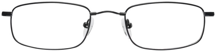 PRESCRIPTION-GLASSES-MODEL-FX4-BLACK-FRONT