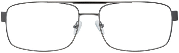PRESCRIPTION-GLASSES-MODEL-GR-803-GUNMETAL-FRONT
