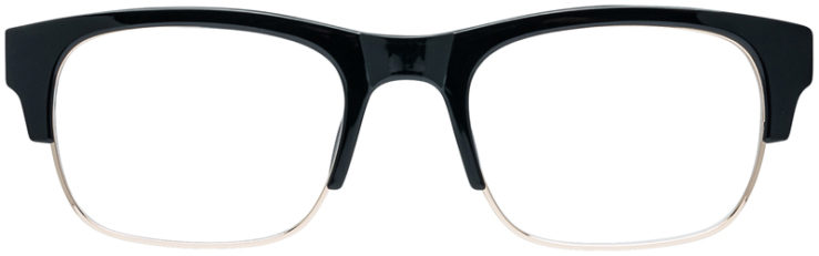 PRESCRIPTION-GLASSES-MODEL-IRA-BLACK-GOLD-FRONT