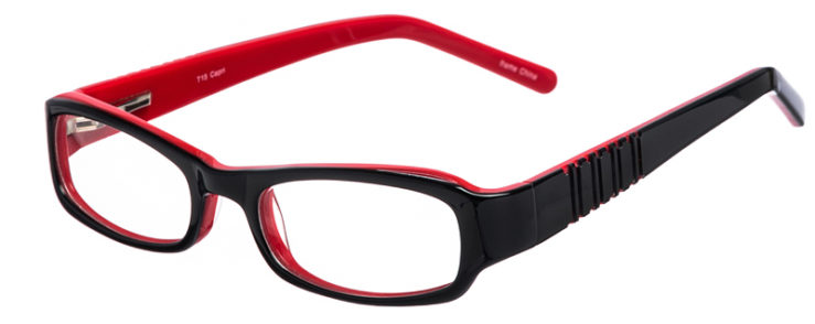 PRESCRIPTION-GLASSES-MODEL-T-15-BLACK-RED-45