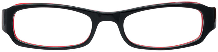 PRESCRIPTION-GLASSES-MODEL-T-15-BLACK-RED-FRONT
