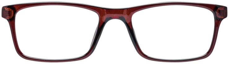 PRESCRIPTION-GLASSES-MODEL-U-205-BROWN-FRONT