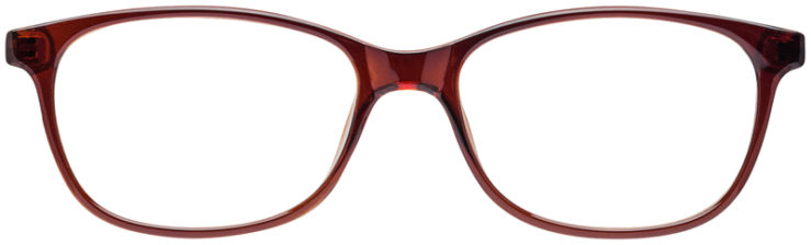 PRESCRIPTION-GLASSES-MODEL-U-208-BROWN-FRONT