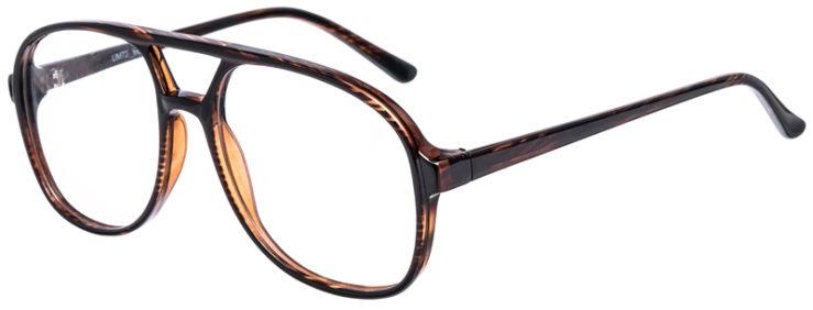 PRESCRIPTION-GLASSES-MODEL-UM-72-BROWN-45