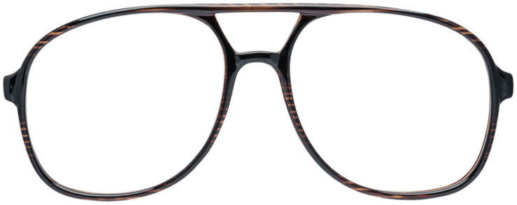 PRESCRIPTION-GLASSES-MODEL-UM-72-BROWN-FRONT