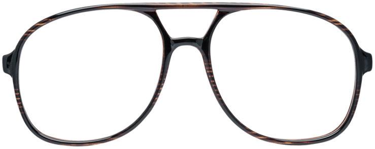 PRESCRIPTION-GLASSES-MODEL-UM-72-BROWN-FRONT