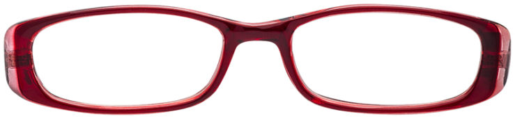 PRESCRIPTION-GLASSES-MODEL-US-63-BURGUNDY-PINK-FRONT