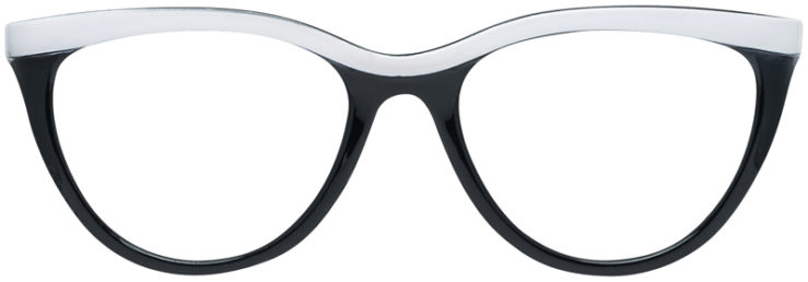 PRESCRIPTION-GLASSES-MODEL-US-79-BLACK-WHITE-FRONT