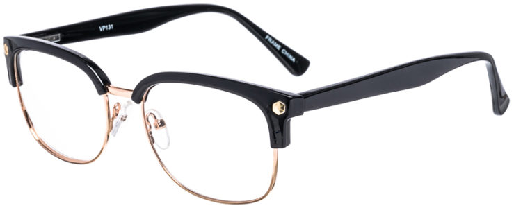 PRESCRIPTION-GLASSES-MODEL-VP-131-GOLD-BLACK-45