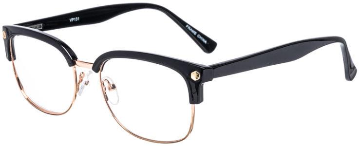 PRESCRIPTION-GLASSES-MODEL-VP-131-GOLD-BLACK-45