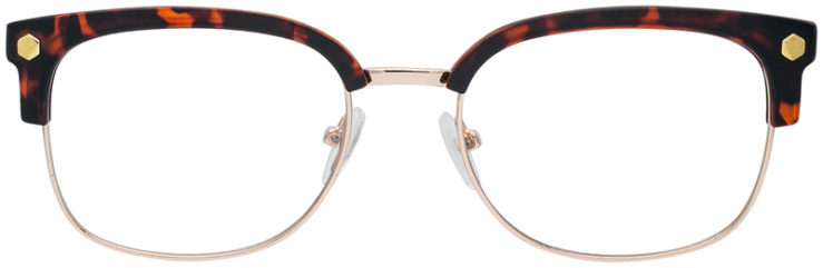 PRESCRIPTION-GLASSES-MODEL-VP-131-GOLD-TORTOISE-FRONT