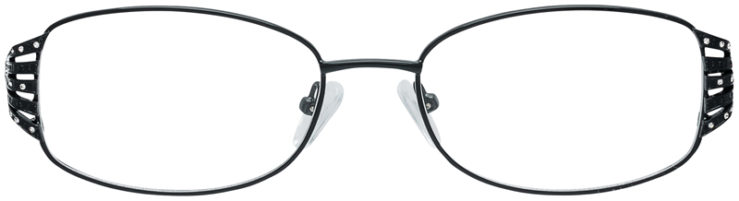 PRESCRIPTION-GLASSES-MODEL-VP-209-BLACK-FRONT