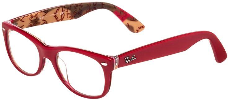 Ray-Ban Prescription Glasses Model New Wayfarer RB5184 (50) 45