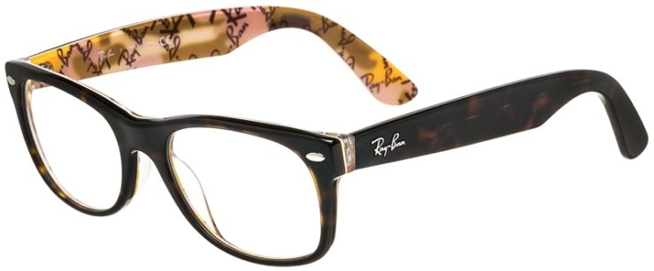 Ray-Ban Prescription Glasses Model New Wayfarer RB5184 (50) 45