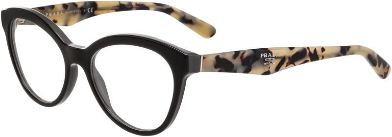 8107283263d Prada Prescription Glasses Model VPR 11R (50) 45 - Overnight Glasses