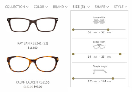 How to order eyeglass frames