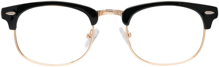 PRESCRIPTION-GLASSES-MODEL-HARLEY-BLACK-GOLD-FRONT
