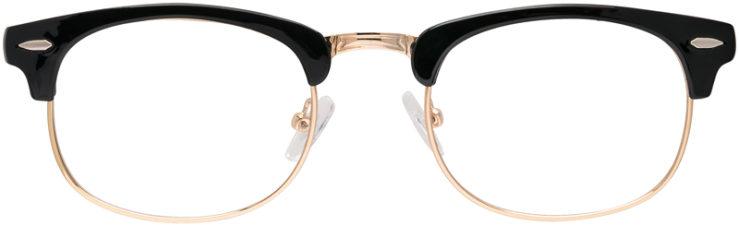 PRESCRIPTION-GLASSES-MODEL-HARLEY-BLACK-GOLD-FRONT
